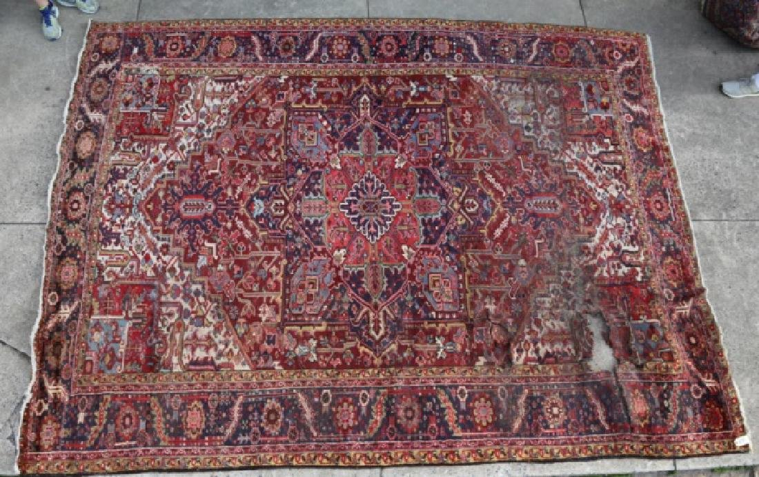 PERSIAN SAROUK  HAND WOVEN ROOM SIZE RUG