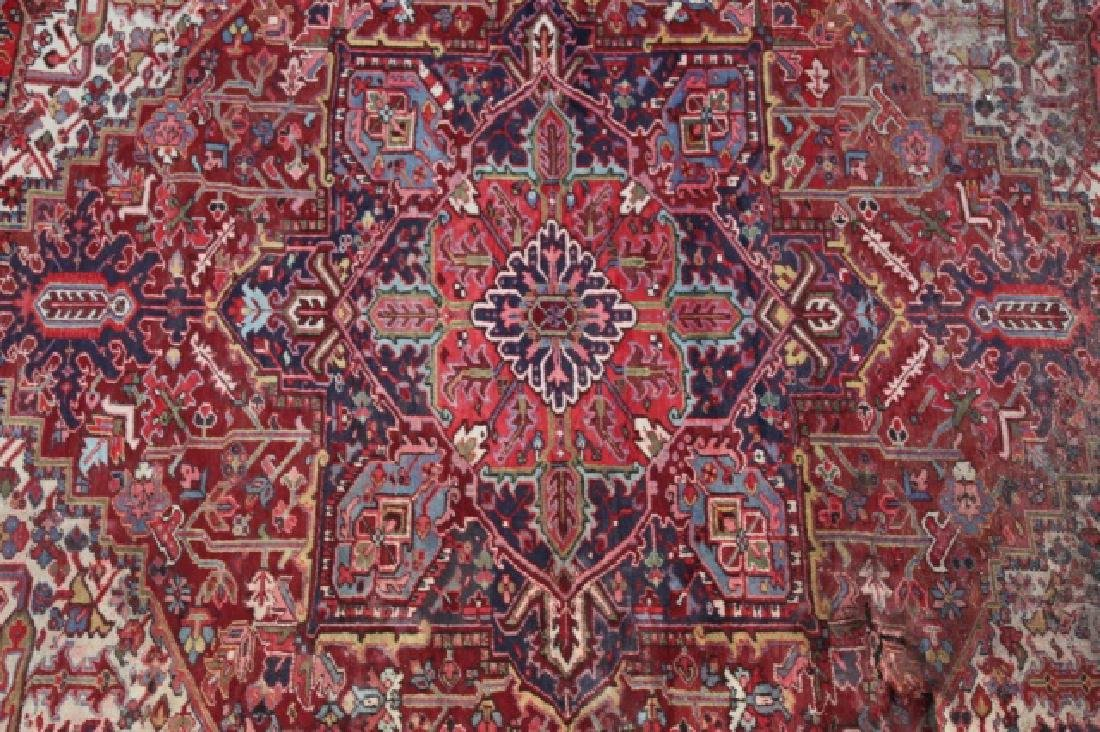 PERSIAN SAROUK  HAND WOVEN ROOM SIZE RUG - 2