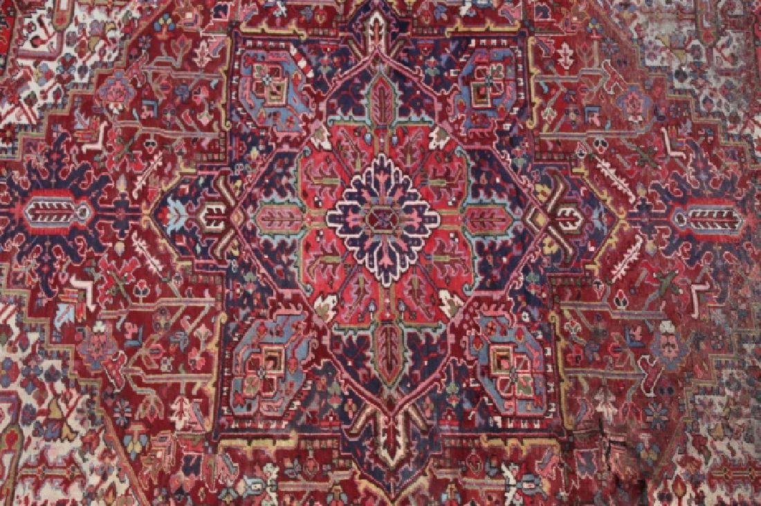 PERSIAN SAROUK  HAND WOVEN ROOM SIZE RUG - 3