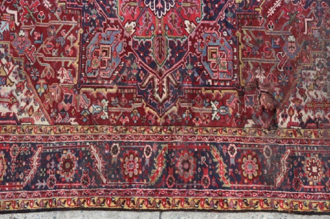 PERSIAN SAROUK  HAND WOVEN ROOM SIZE RUG - 6