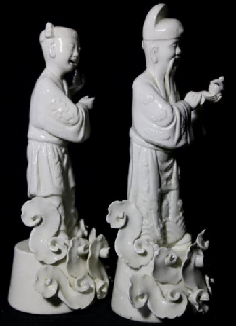 CHINESE ANTIQUE BLANC DE CHINE IMMORTALS - 4