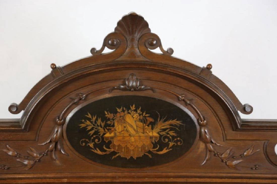HERTER BROTHERS AMERICAN ANTIQUE INLAID BUFFET - 6
