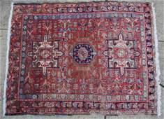 PERSIAN ANTIQUE HAND WOVEN AREA CARPET