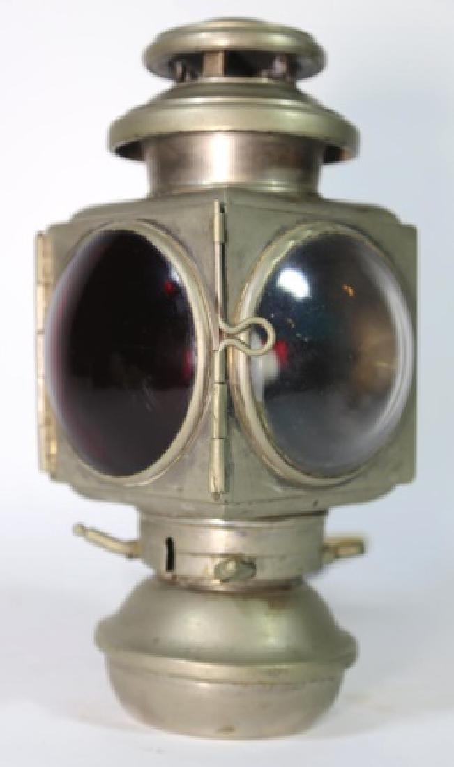 E & J DETROIT 1908  BRASS AUTO CAR CARRIAGE LIGHT - 10