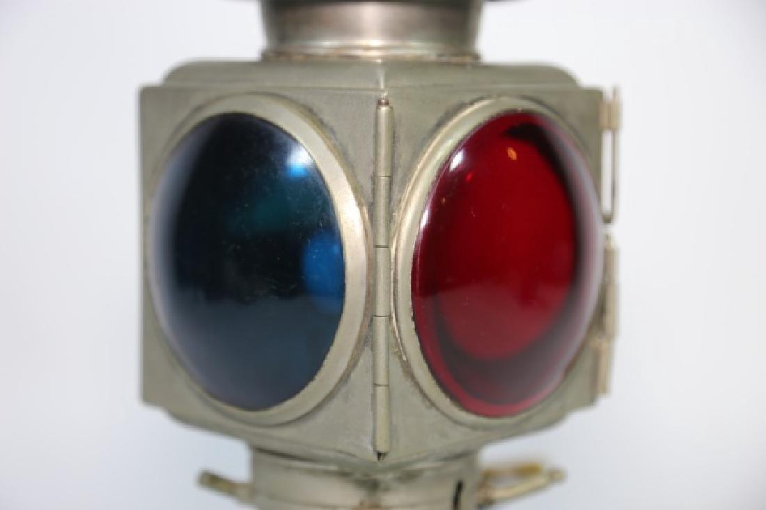 E & J DETROIT 1908  BRASS AUTO CAR CARRIAGE LIGHT - 3