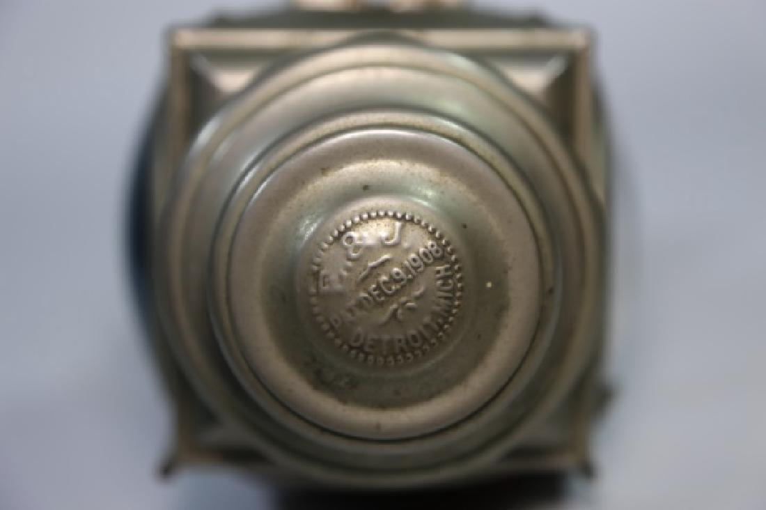E & J DETROIT 1908  BRASS AUTO CAR CARRIAGE LIGHT - 5