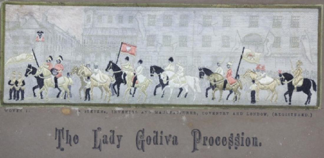 STEVENGRAPH THE LADY GODIVA  PROCESSION SILK WORK - 2