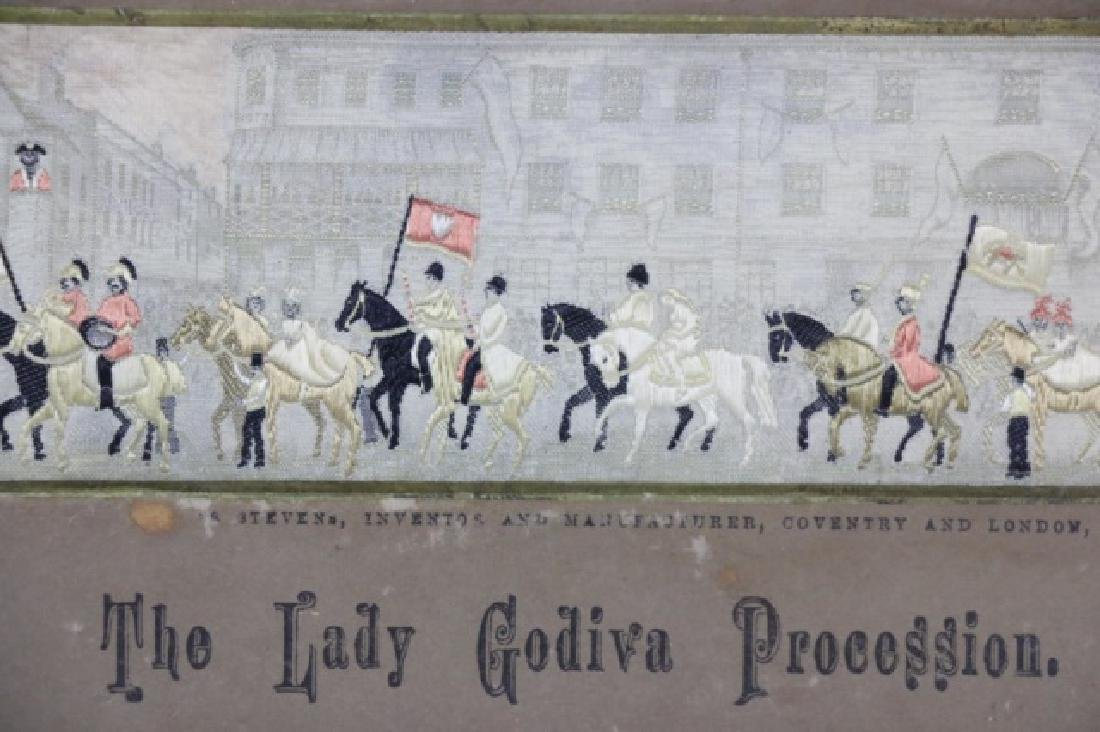 STEVENGRAPH THE LADY GODIVA  PROCESSION SILK WORK - 4
