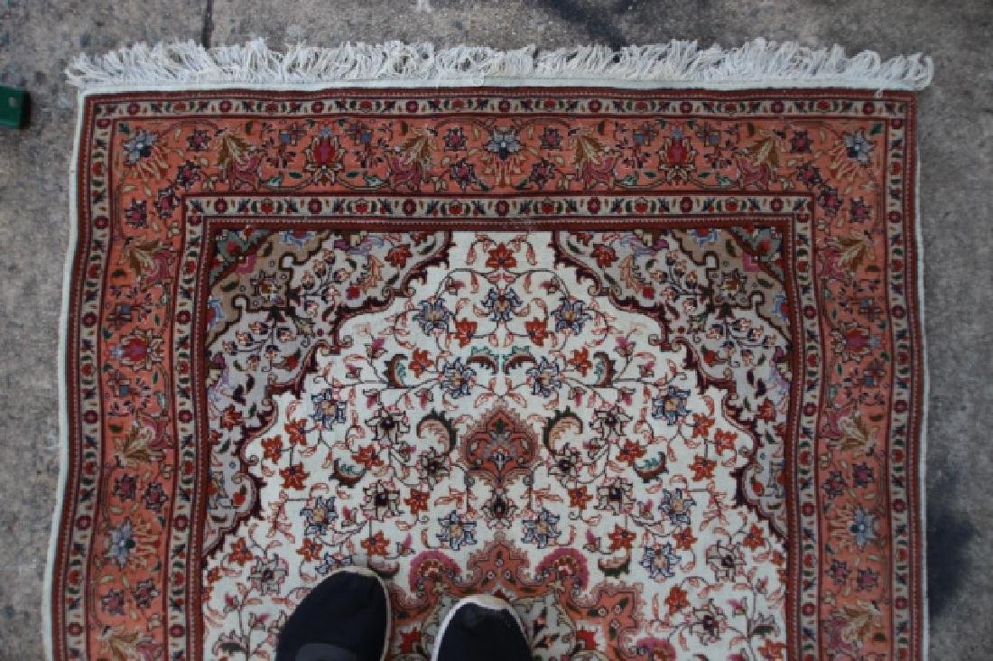 PERSIAN TIGHTLY HAND WOVEN SAROUK AREA CARPET - 2