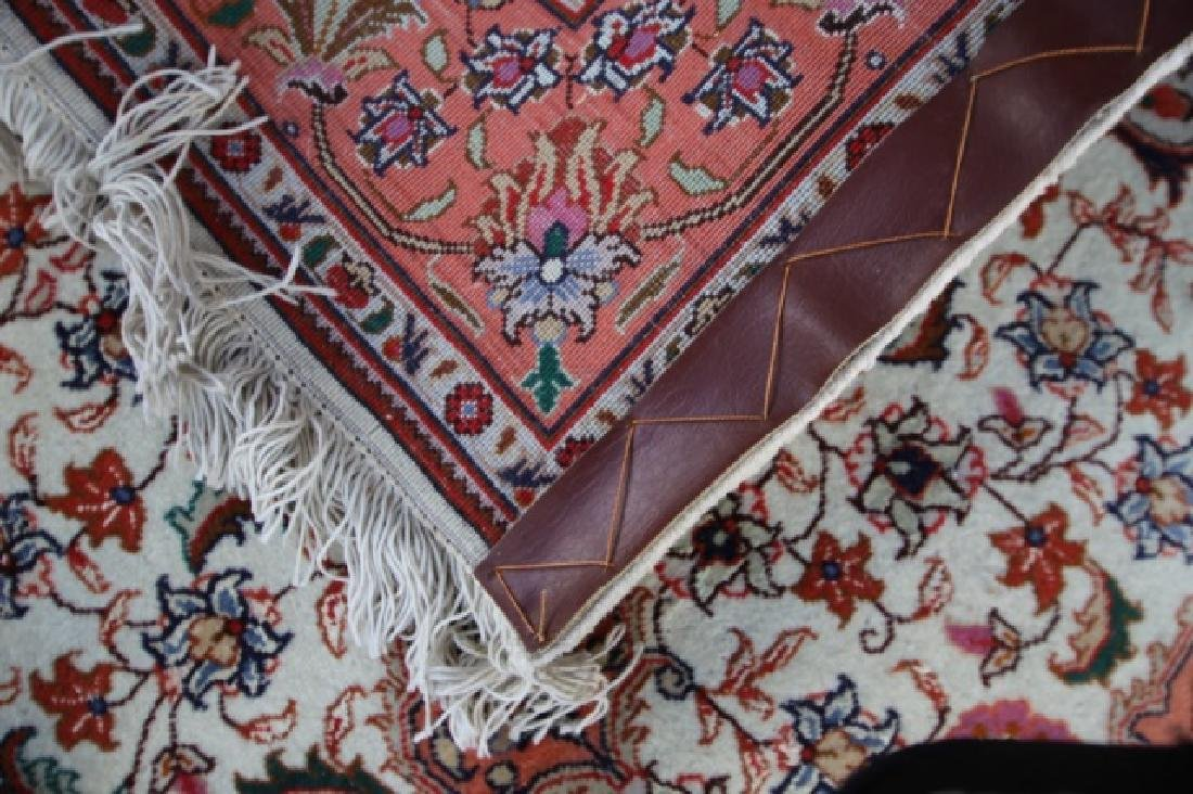 PERSIAN TIGHTLY HAND WOVEN SAROUK AREA CARPET - 4