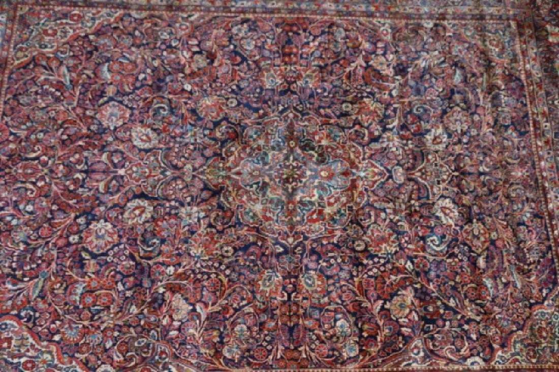 PERSIAN SAROUK HAND WOVEN ROOM SIZE RUG - 4