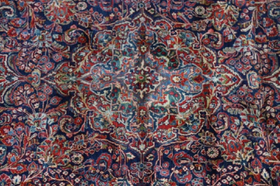 PERSIAN SAROUK HAND WOVEN ROOM SIZE RUG - 5