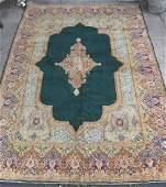 PERSIAN SEMI ANTIQUE HAND WOVEN KERMAN CARPET