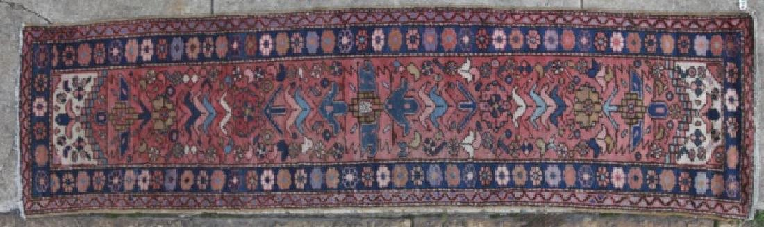 PERSIAN HAND WOVEN SEMI-ANTIQUE RUNNER