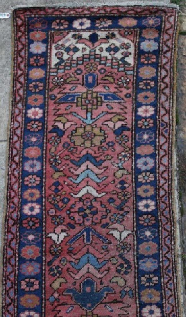 PERSIAN HAND WOVEN SEMI-ANTIQUE RUNNER - 2