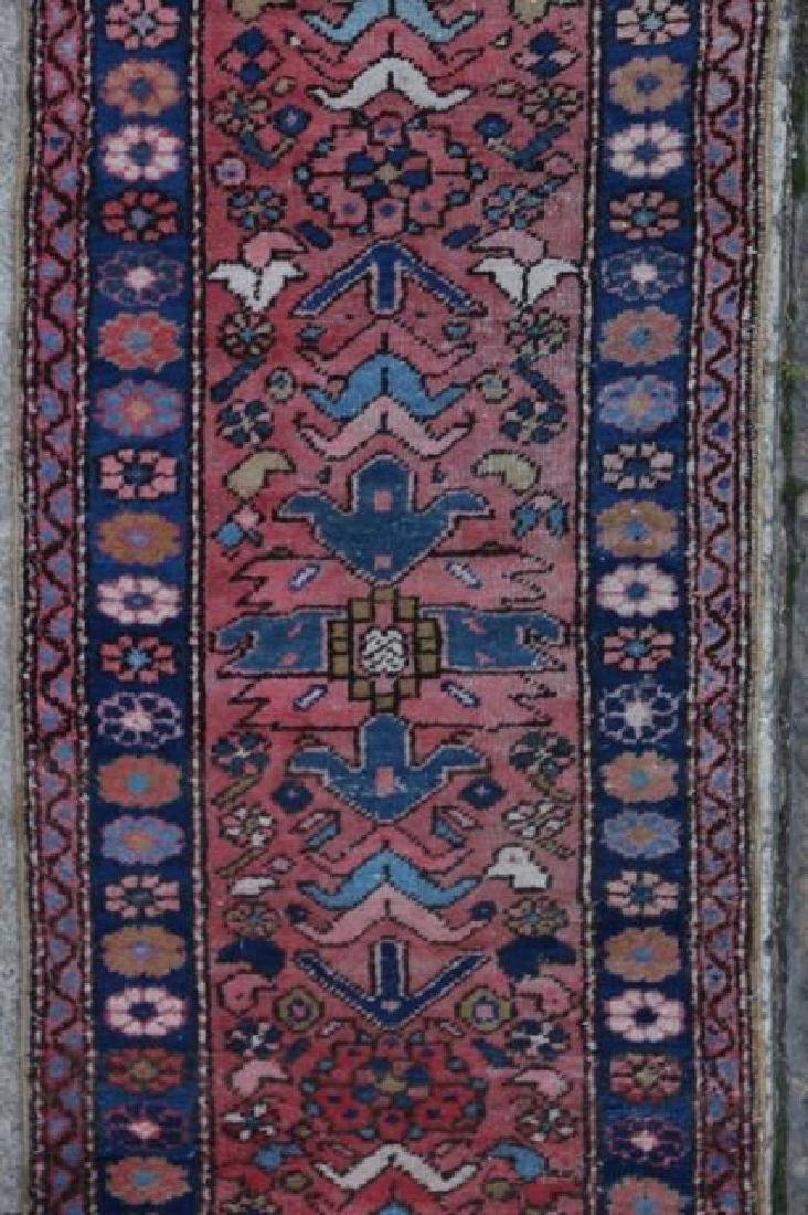 PERSIAN HAND WOVEN SEMI-ANTIQUE RUNNER - 3