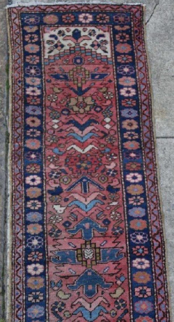 PERSIAN HAND WOVEN SEMI-ANTIQUE RUNNER - 4