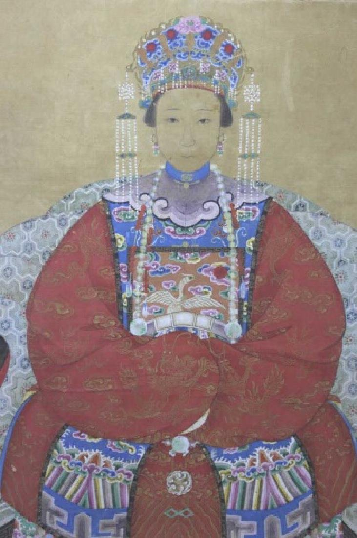 CHINESE ANTIQUE PORTRAIT - 4