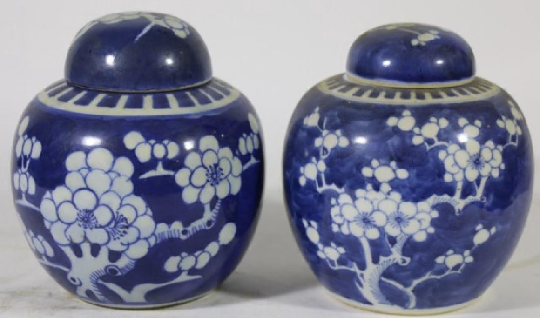 JAPANESE ANTIQUE GINGER JARS - 4