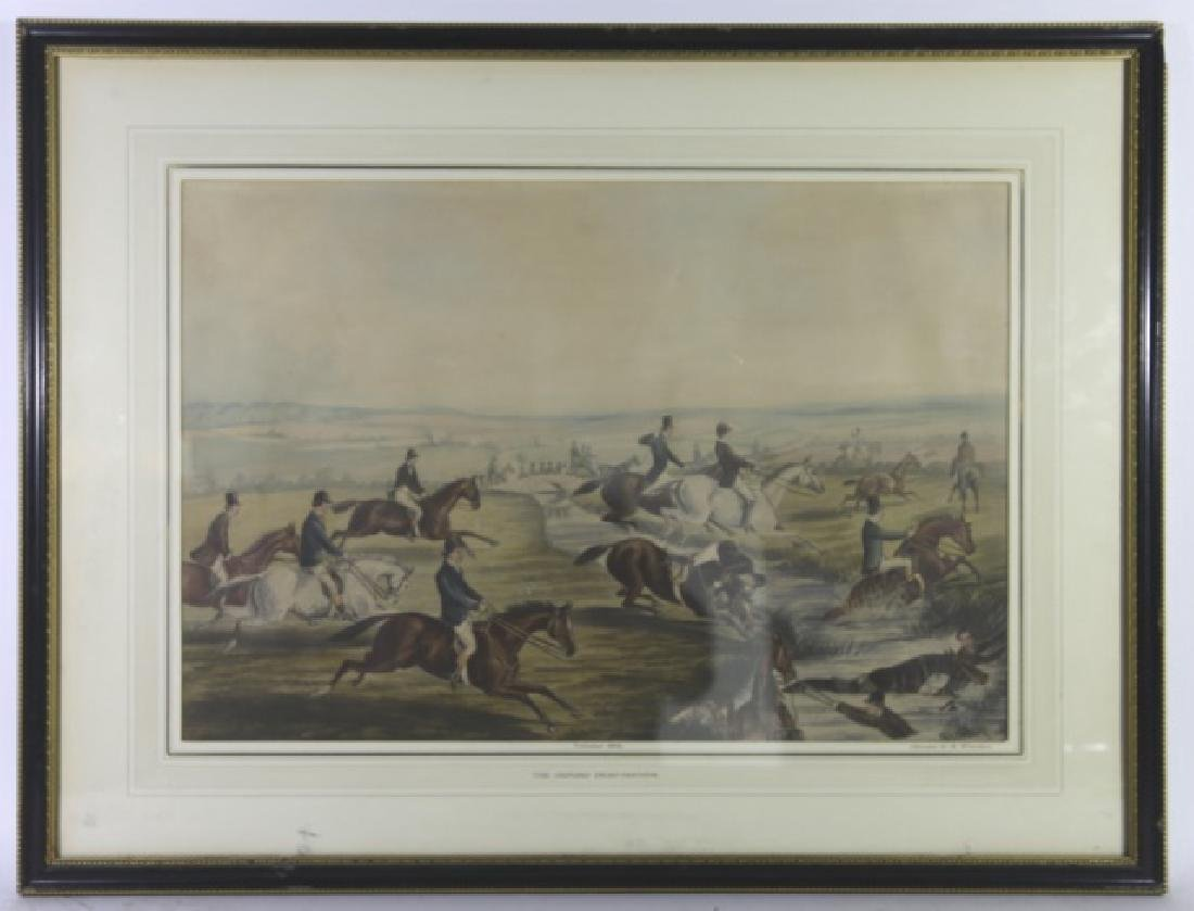 1848 CANNON G.R. WINTERS ENGLISH ANTIQUE HUNT WORK