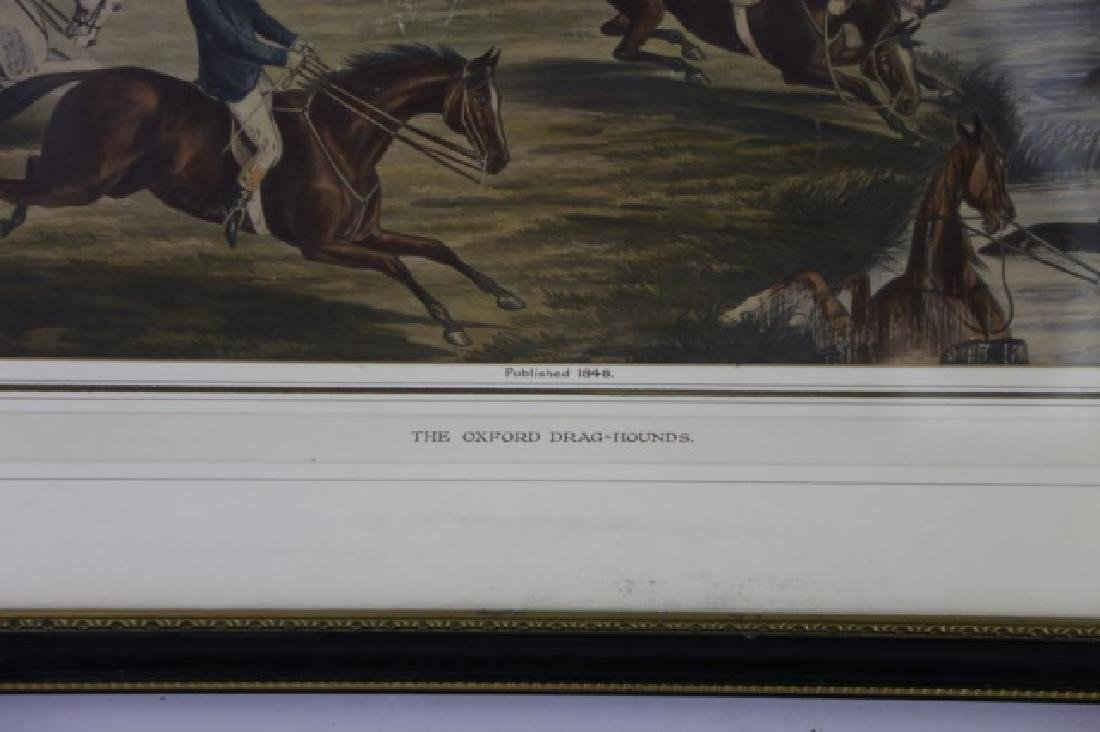 1848 CANNON G.R. WINTERS ENGLISH ANTIQUE HUNT WORK - 2