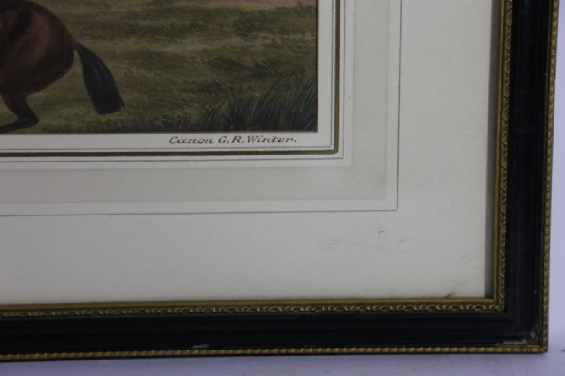 1848 CANNON G.R. WINTERS ENGLISH ANTIQUE HUNT WORK - 4
