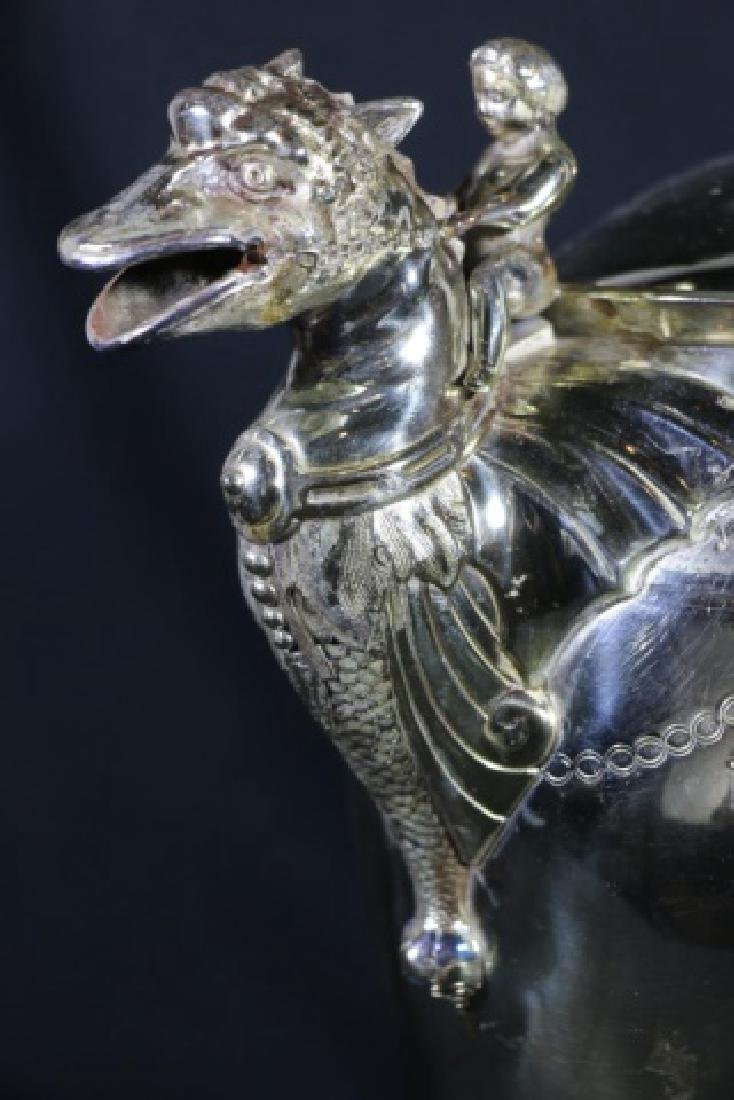 REED & BARTON VICTORIAN SILVER WATER PITCHER - 3