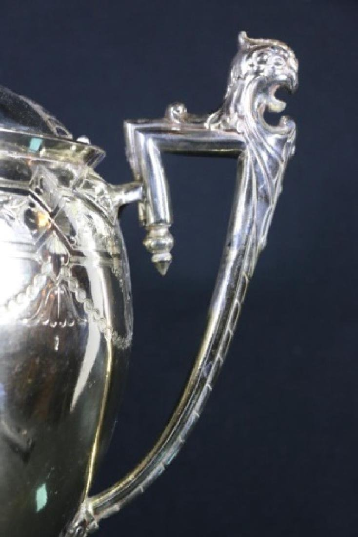 REED & BARTON VICTORIAN SILVER WATER PITCHER - 4