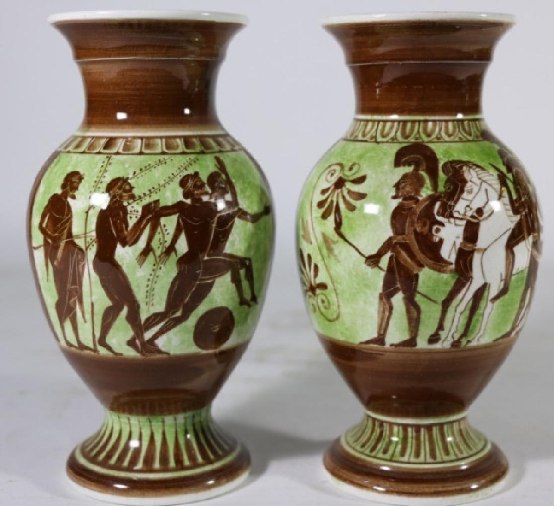 GREEK CERAMIC VASES - 2