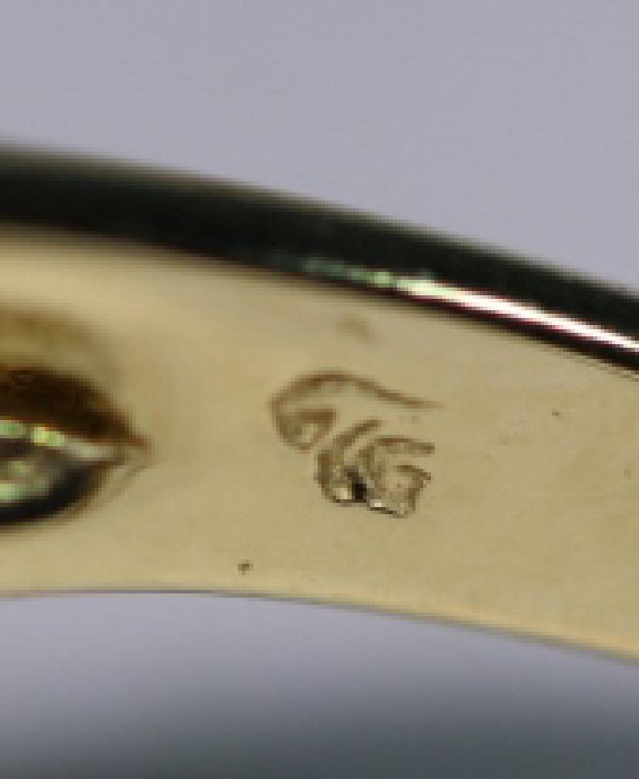 14KYG & LEMON CITRINE LADIES COCKTAIL RING - 4