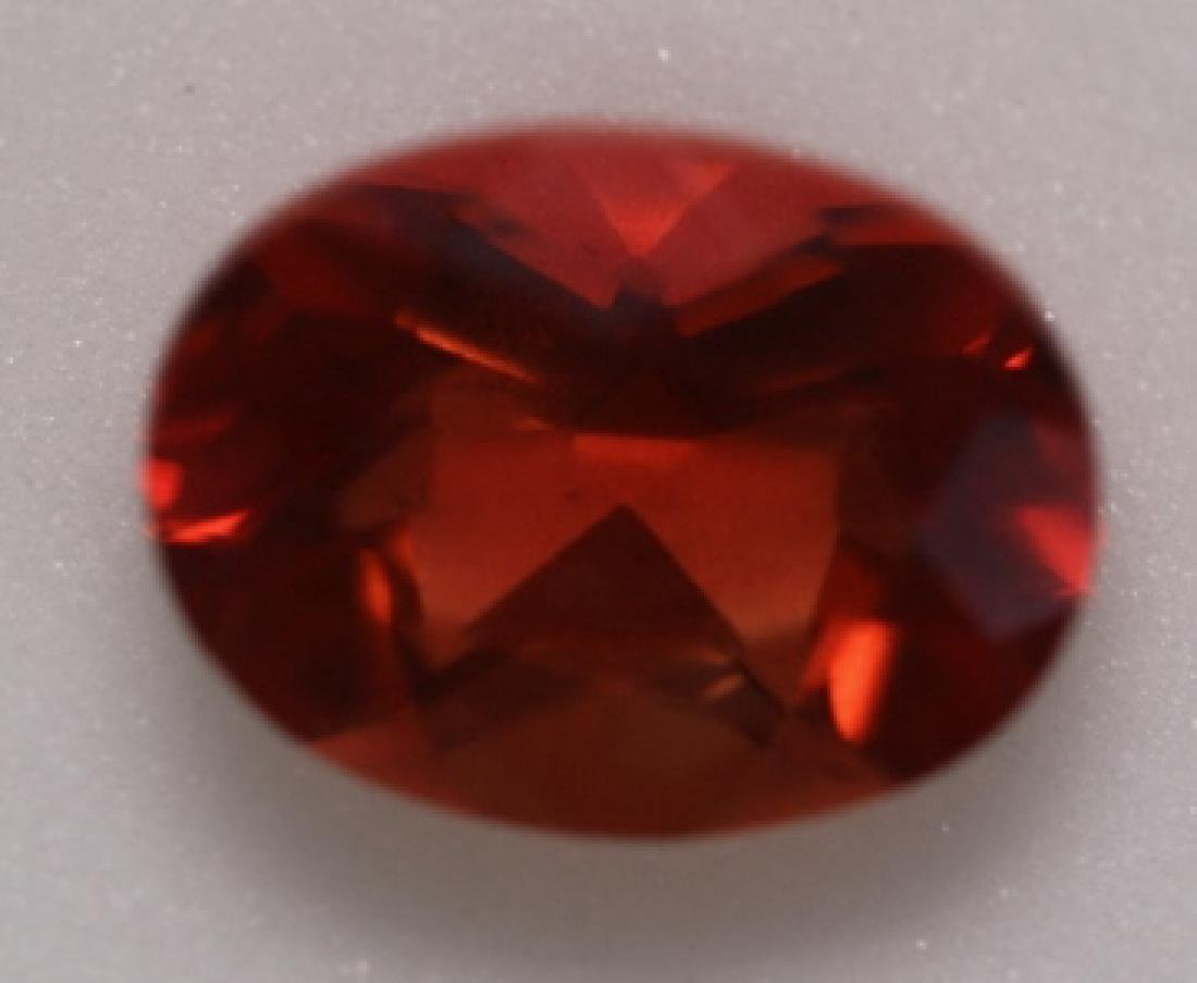 1CT ANDESINE OVAL LOOSE GEMSTONE - 4
