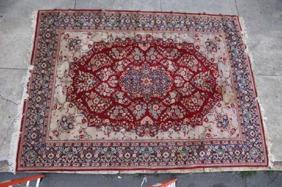 PERSIAN HAND WOVEN ROOM SIZE CARPET - 4