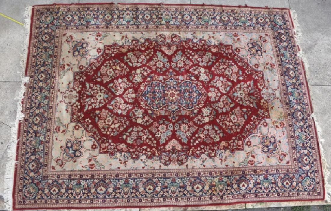 PERSIAN HAND WOVEN ROOM SIZE CARPET - 8