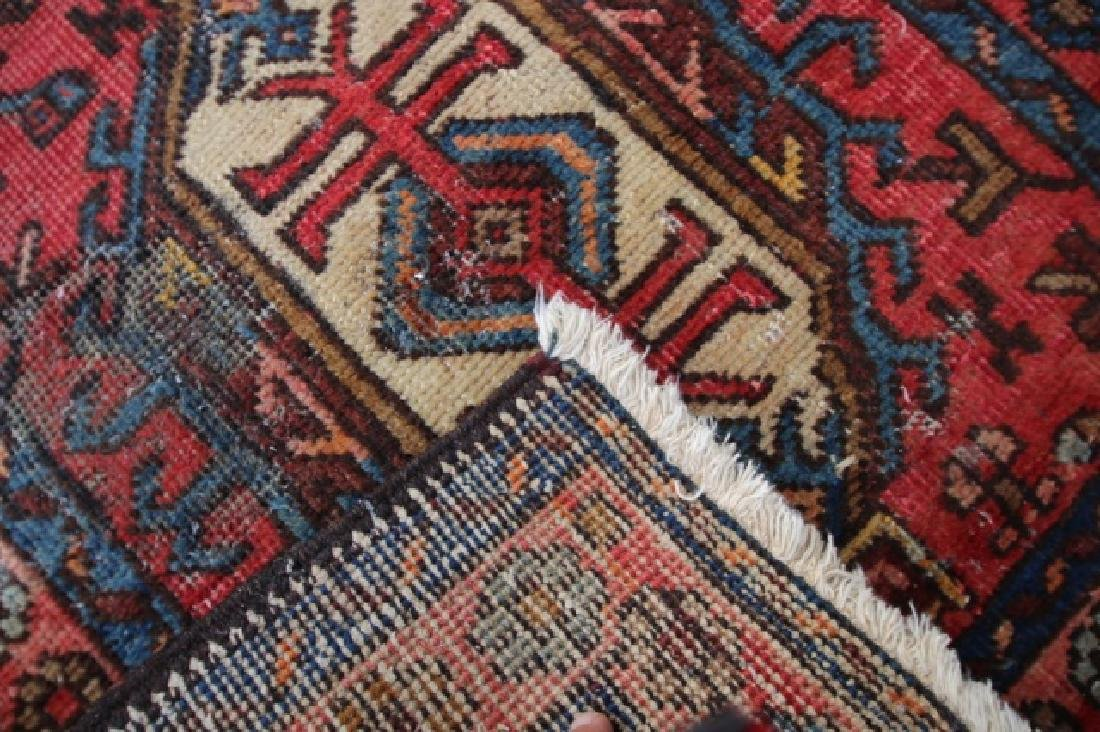 PERSIAN ANTIQUE HAND WOVEN AREA  RUNNER - 2