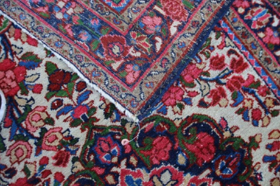 PERSIAN ANTIQUE HAND WOVEN AREA CARPET - 2