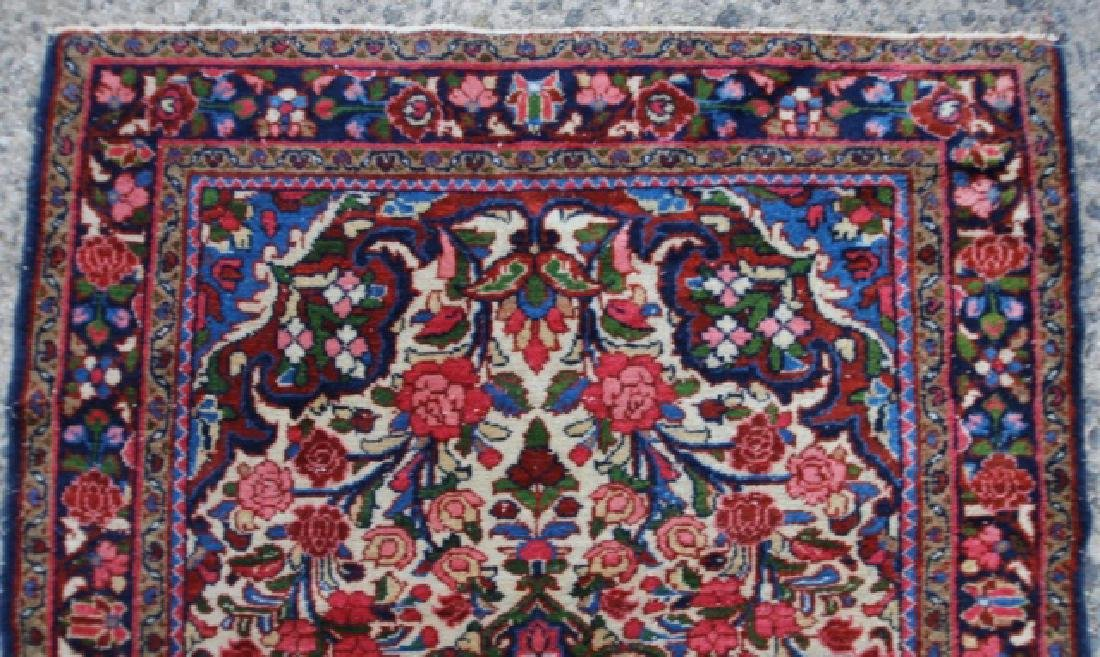 PERSIAN ANTIQUE HAND WOVEN AREA CARPET - 3