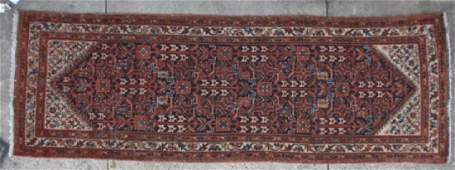 PERSIAN ANTIQUE MALAYER HAND WOVEN AREA RUNNER
