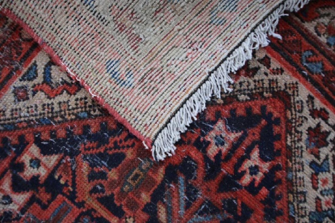 PERSIAN ANTIQUE MALAYER HAND WOVEN AREA RUNNER - 4