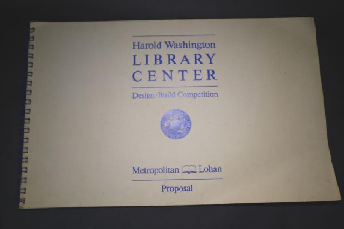 HAROLD WASHINGTON LIBRARY CENTER DESIGN PLANS