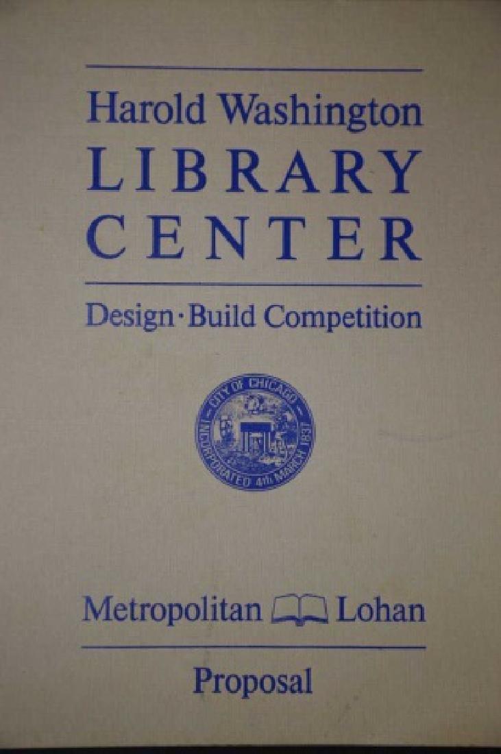 HAROLD WASHINGTON LIBRARY CENTER DESIGN PLANS - 2