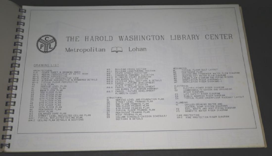 HAROLD WASHINGTON LIBRARY CENTER DESIGN PLANS - 3