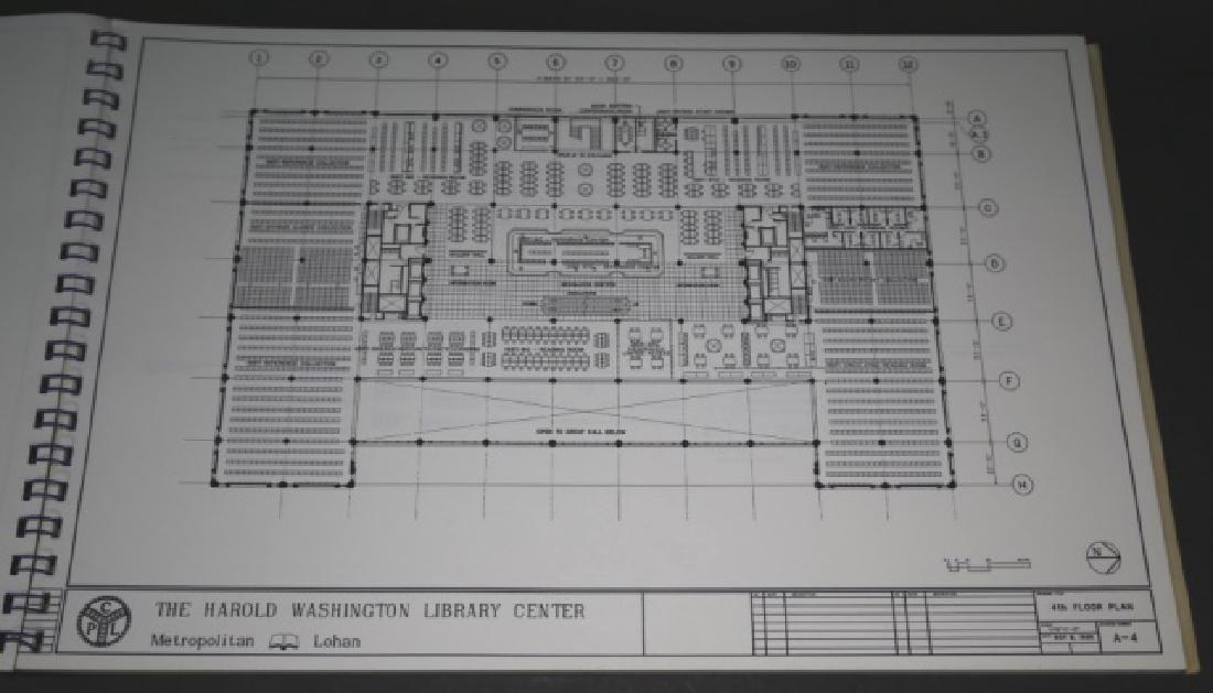 HAROLD WASHINGTON LIBRARY CENTER DESIGN PLANS - 4
