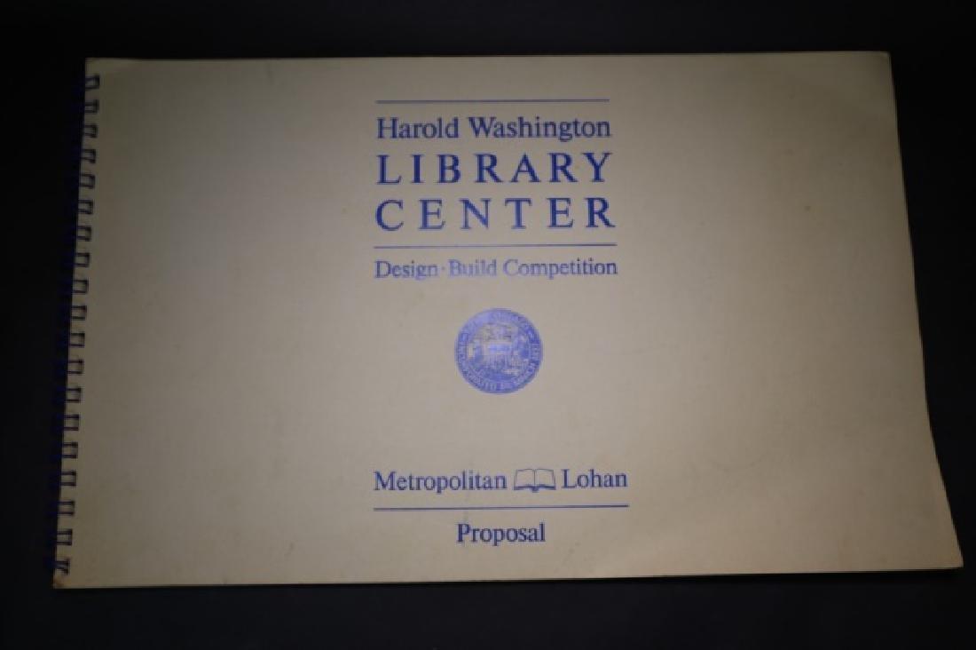 HAROLD WASHINGTON LIBRARY CENTER DESIGN PLANS - 5