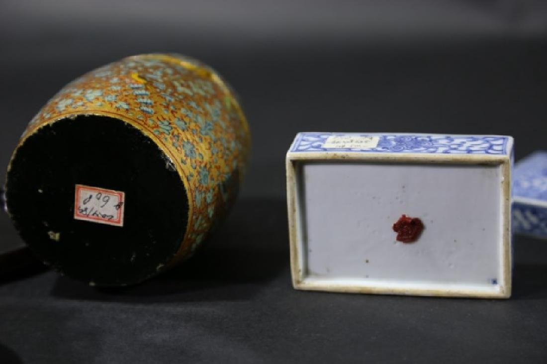 ASIAN ANTIQUE  BOX GROUPING - 6