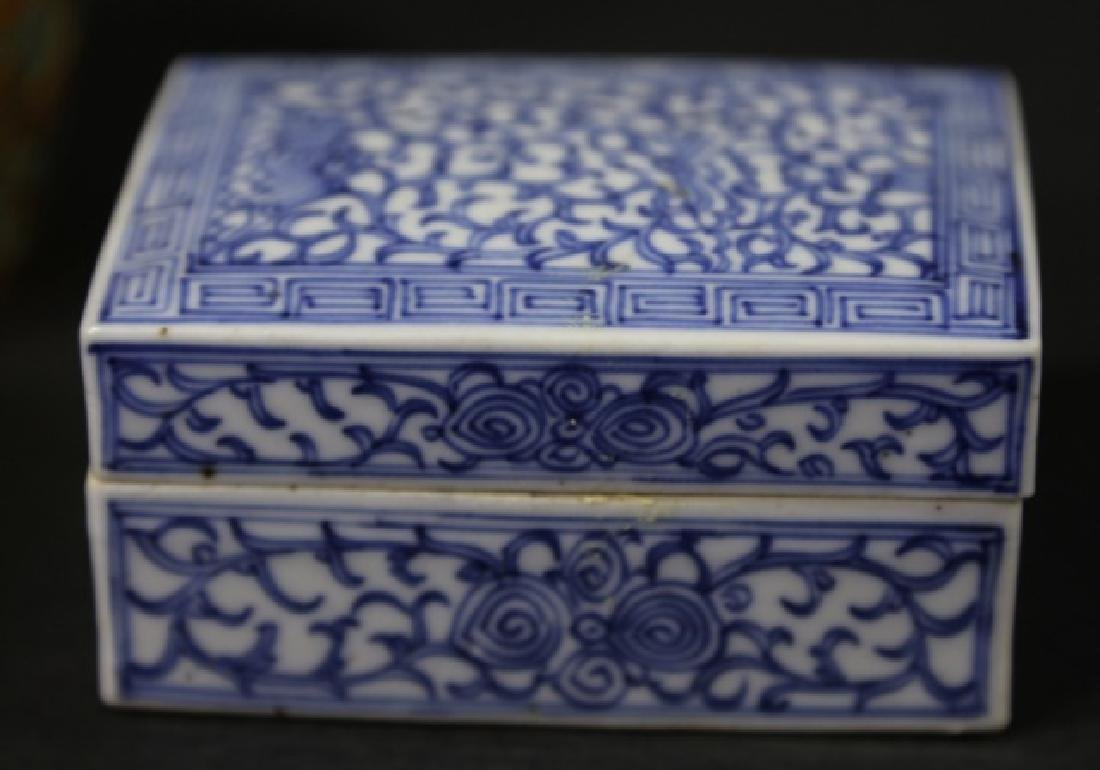 ASIAN ANTIQUE  BOX GROUPING - 7