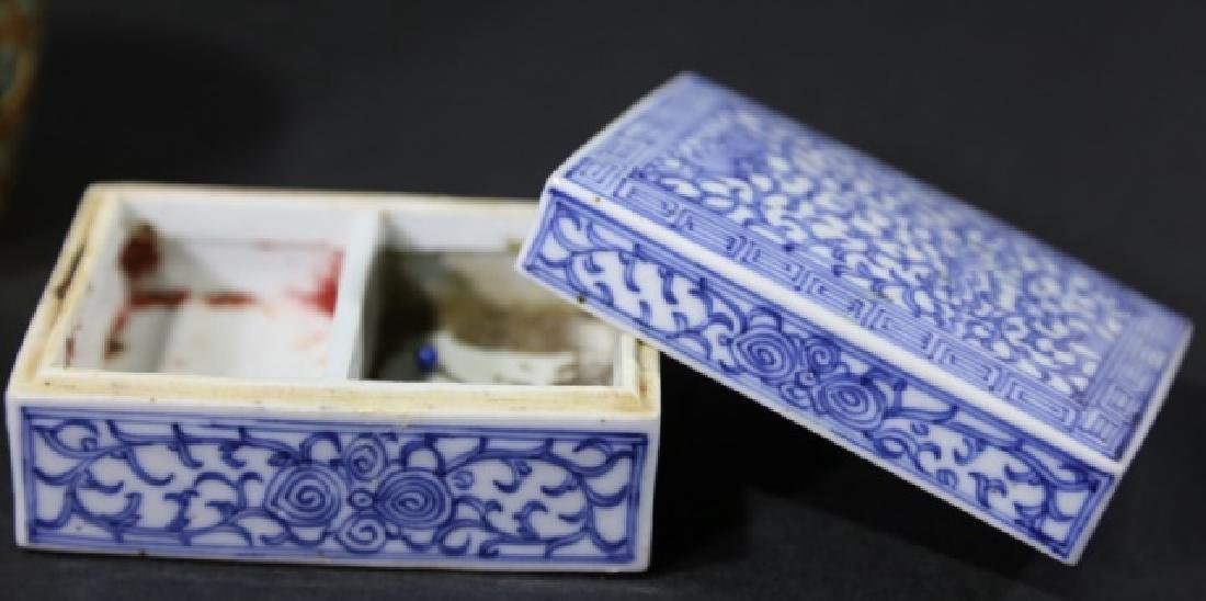 ASIAN ANTIQUE  BOX GROUPING - 8