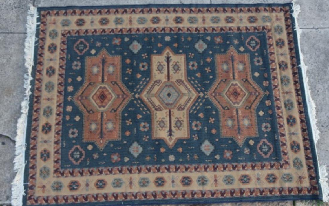 PERSIAN HAND WOVEN AREA RUG - 6