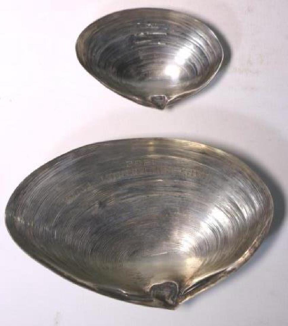CAPE COD STERLING  1962 KENNEL CLUB SHELL DISHES