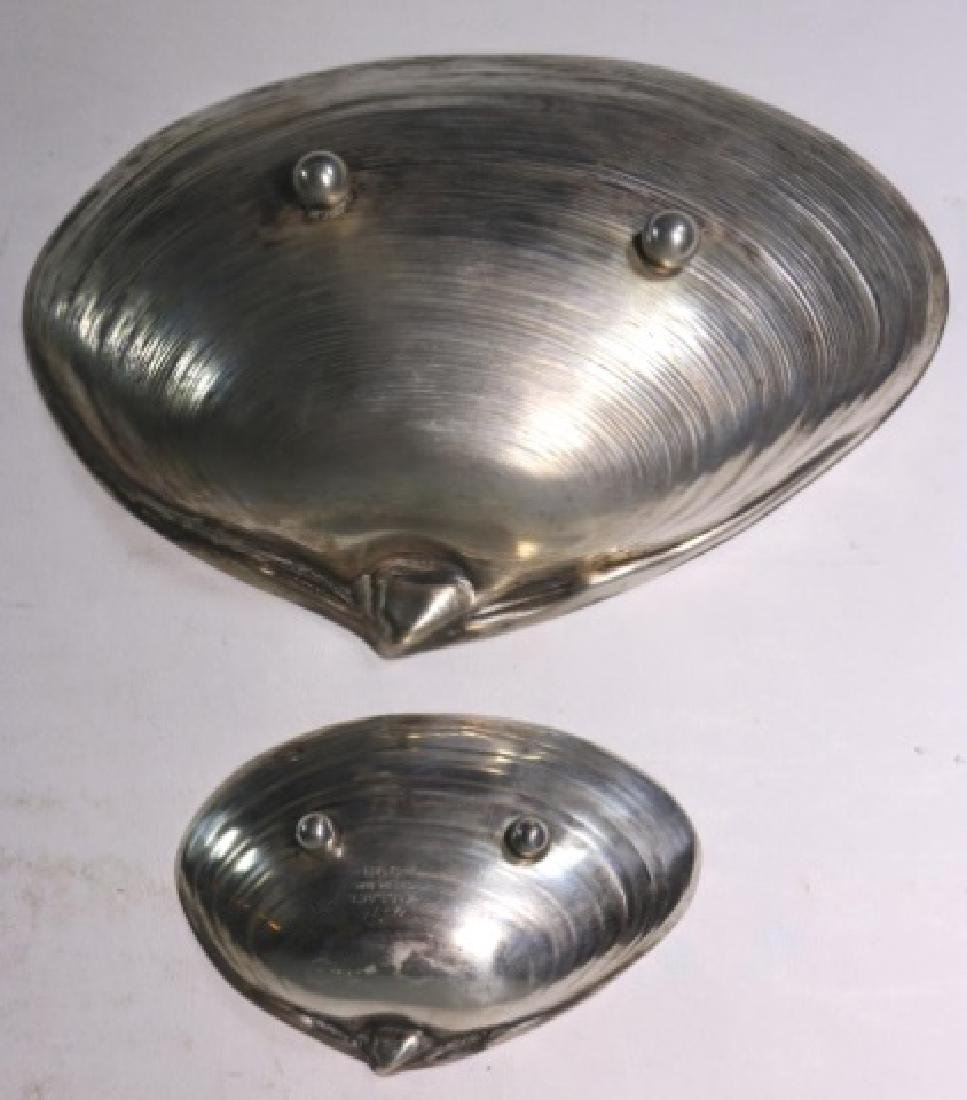 CAPE COD STERLING  1962 KENNEL CLUB SHELL DISHES - 8