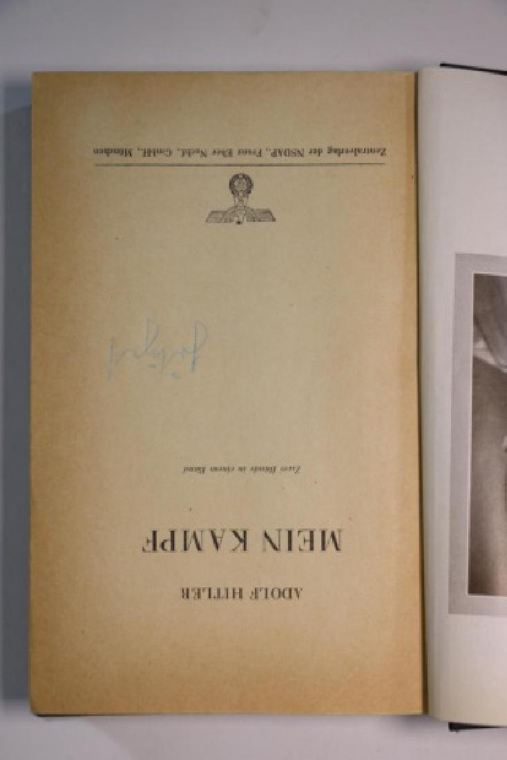 "1943 ""MEIN KAMPF"" BY ADOLF HITLER - 4"